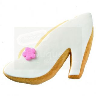 Shoe Shaped Butter Cookie - Baptism